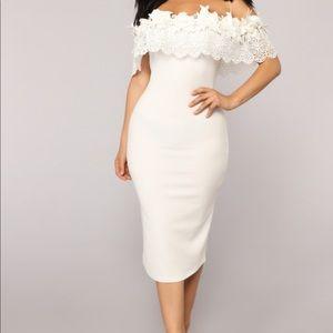 Fashion Nova, White dress